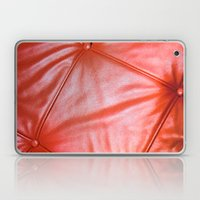 Red Buttons Laptop & iPad Skin