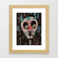 Calaca Framed Art Print
