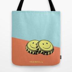 Two Happy Beers Tote Bag