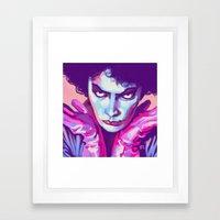 Dr Frank N Furter Framed Art Print