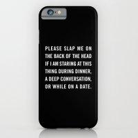 Smartphone slap iPhone 6 Slim Case