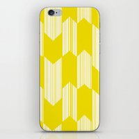 Yellow  Boho Arrows iPhone & iPod Skin