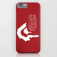 Liberty Lion Insurance Logo iPhone 6 Slim Case