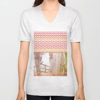 AZTEC 'Door Into Summer'… Unisex V-Neck