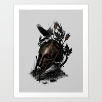 Legends Fall Art Print