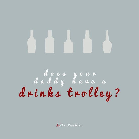 Drinks Trolley Art Print