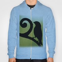 Bird On The Ironwork Hoody