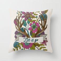 Let it go Throw Pillow
