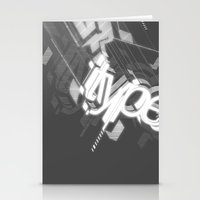 Stereo Type Stationery Cards