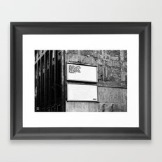 Billboard Fantasies #1 Framed Art Print