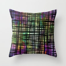 Colorful striped DP035-6 Throw Pillow