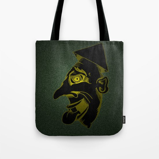 Sinister Man in a Paper Hat Tote Bag