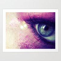 Coral Love Art Print