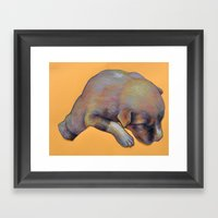 Pup Framed Art Print