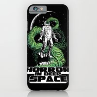 iPhone & iPod Case featuring Horror In Deep Space by Joel Hustak