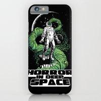 Horror In Deep Space iPhone 6 Slim Case