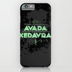 Harry Potter Curses: Avada Kedavra iPhone 6 Slim Case