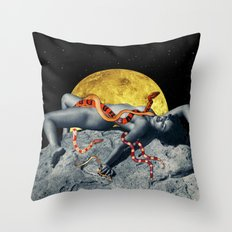 The Venus Priestess Throw Pillow