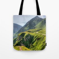 Mountains, Green, Gigant… Tote Bag