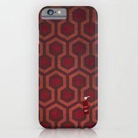 iPhone & iPod Case featuring the Shining Rug & Room 237  by Justin Cybulski