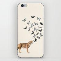 Screaming Butterflies iPhone & iPod Skin