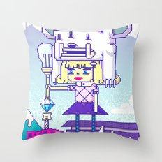 Dakota X Throw Pillow