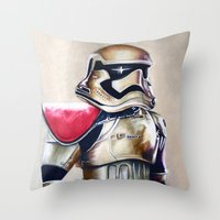 First Order Stormtrooper Throw Pillow