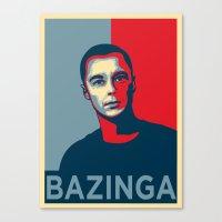 Dr. Sheldon Lee Cooper for president! Canvas Print