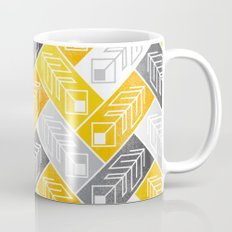 Bright Geometric Print Mug