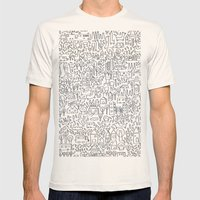 Neighborhood II Mens Fitted Tee Natural SMALL