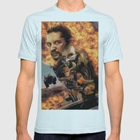 Mad Max Mens Fitted Tee Light Blue SMALL