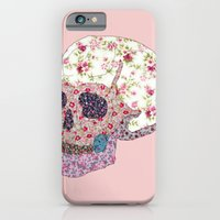 iPhone & iPod Case featuring Liberty Skull by Dario Olibet