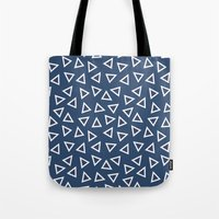 Triangle Spots Tote Bag