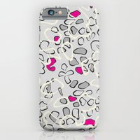iPhone & iPod Case featuring Leopard print 3 by Ellie Kempton