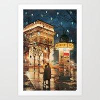 Rain Cant Touch Us Art Print