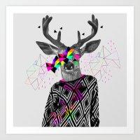 WWWW Art Print