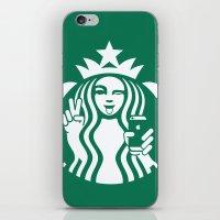 Selfie - 'Starbucks ICONS' iPhone & iPod Skin