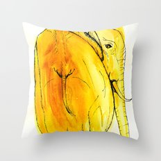 the looked after Throw Pillow