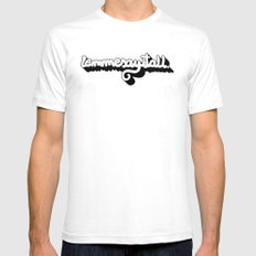 Lemmesayitall Mens Fitted Tee White SMALL