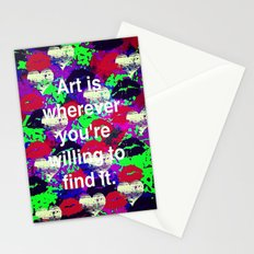Art is... Stationery Cards
