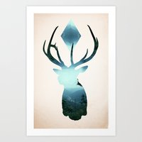 Oh My Deer! Art Print