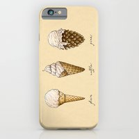 iPhone & iPod Case featuring Ice Cream Cones by Mariya Olshevska