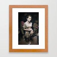 Facelift Framed Art Print