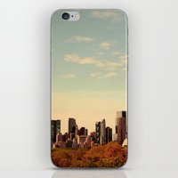 Skyline #1  iPhone & iPod Skin