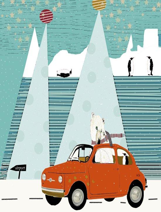 the polar express Art Print