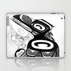 Raven Steals the Water Laptop & iPad Skin