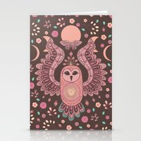 The Owl, The Moon & The … Stationery Cards