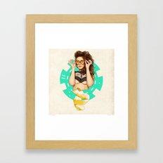 Mrs. Nevada Framed Art Print