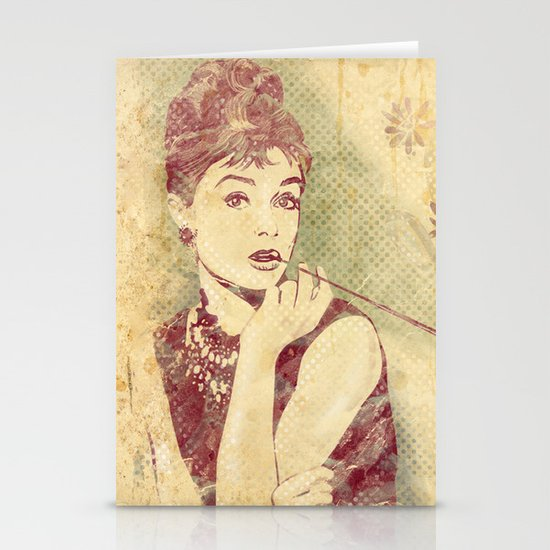 Audrey Hepburn Stationery Card