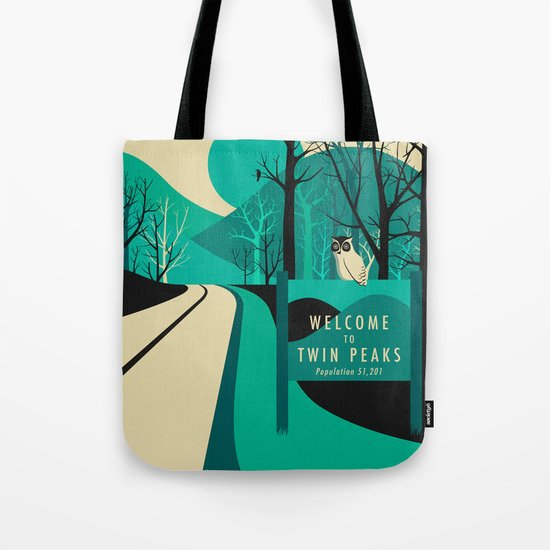 Twin Peaks Tote Bag